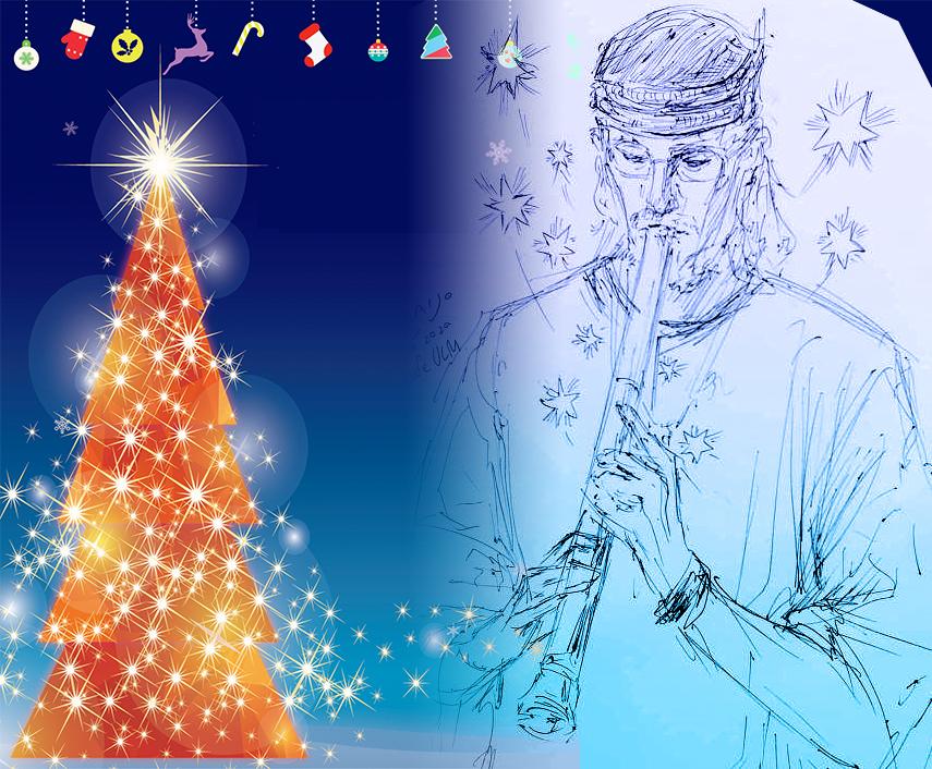 Christmas ㏌ ULM/ロビンロイドコンサートの案内/12月12日(土)15:30開場